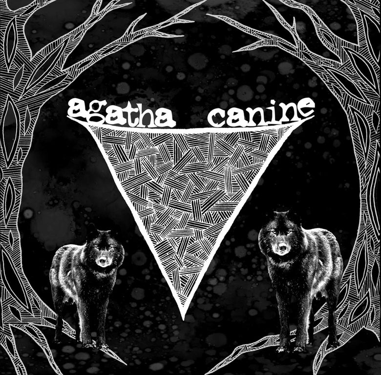 "Image of AGATHA / CANINE - split 7"" (nettle-02)"