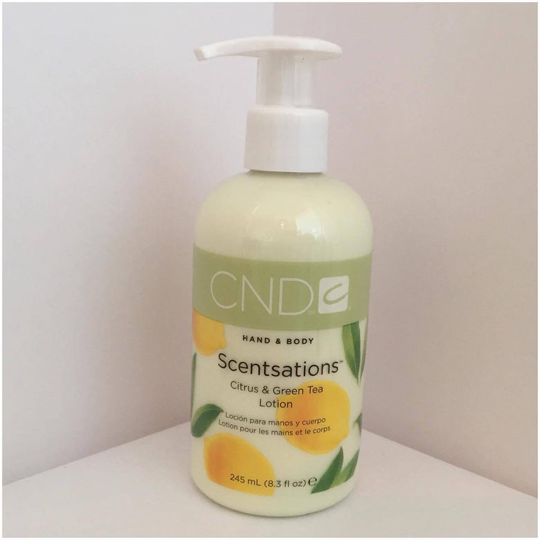 Image of CND Scentsations Hand and Body Lotion - Citrus and Green Tea
