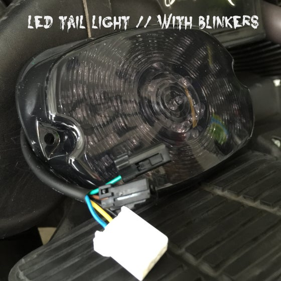 Image of Low Profile LED Tail light with Blinkers