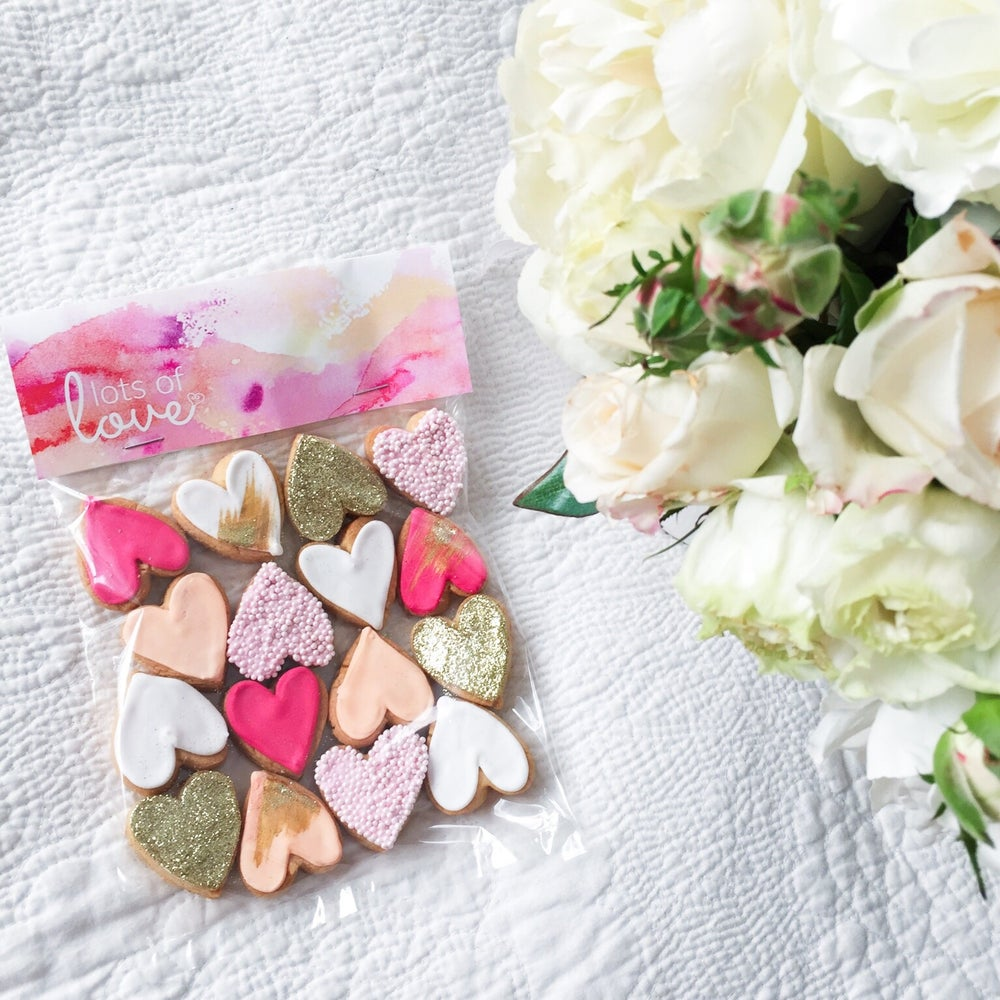 Image of Cookies - Lots of Love (Pink + Peach)