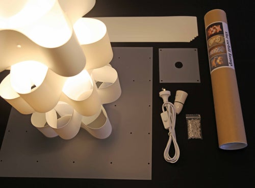 Image of Orbit Lamp - Colour Inserts 50cm