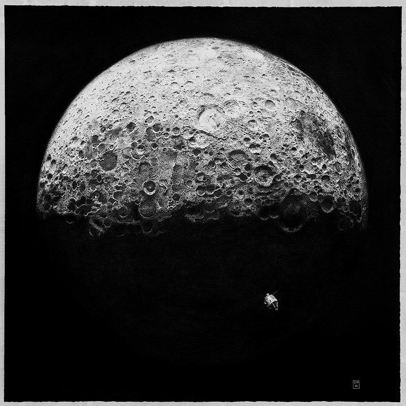 Image of Dark Side Of The Moon - Limited Edition Prints. From £100 to