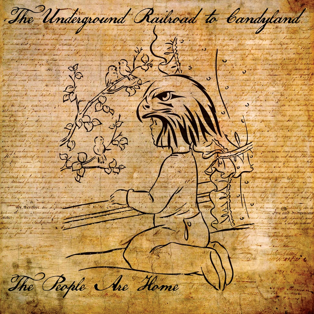 Image of THE UNDERGROUND RAILROAD TO CANDYLAND - The People Are Home (LP+DL/CD Digipak/CASS)