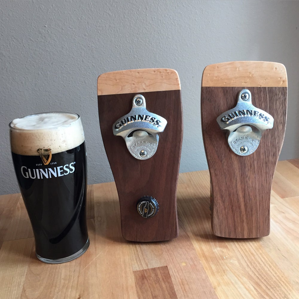 Image of Guinness magnetic bottle opener