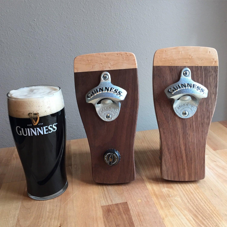 Image of Guinness magnetic bottle opener