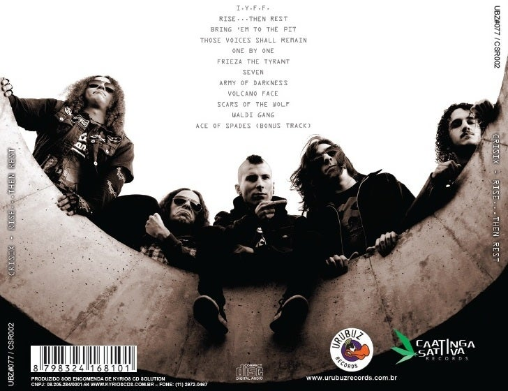 Image of 'Rise...Then Rest' CD Jewelcase