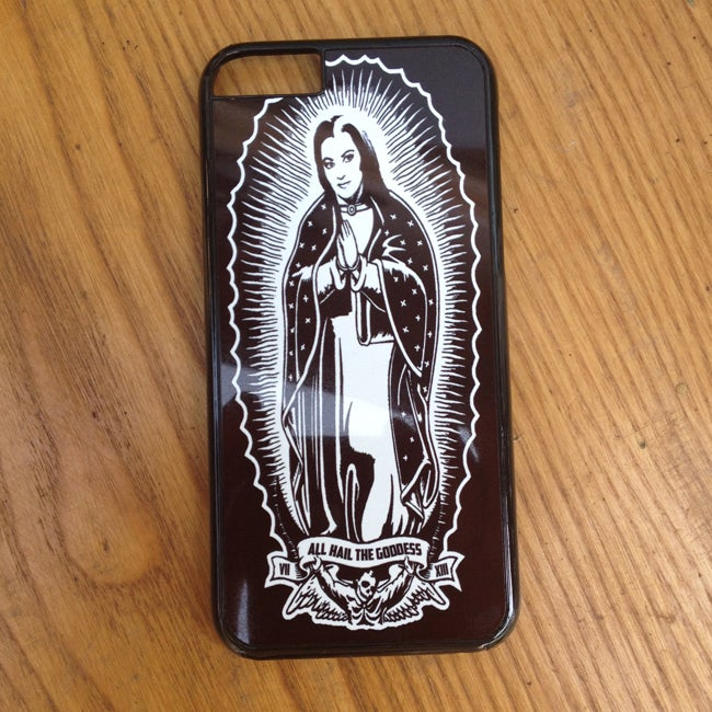 Image of Virgin Lily of Guadalupe iPhone Case 5s 5c 6