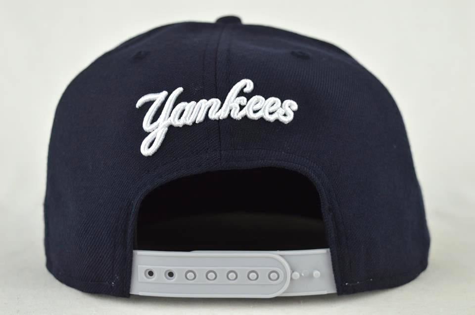 Image of NEW YORK YANKEES NVY BLU/WHT NEW ERA 9FIFTY SNAPBACK