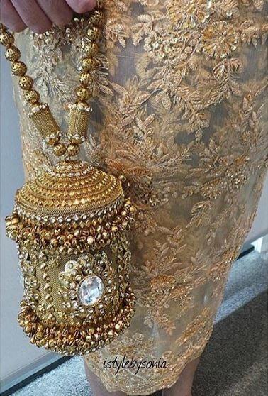 Image of Agra Metal Bag