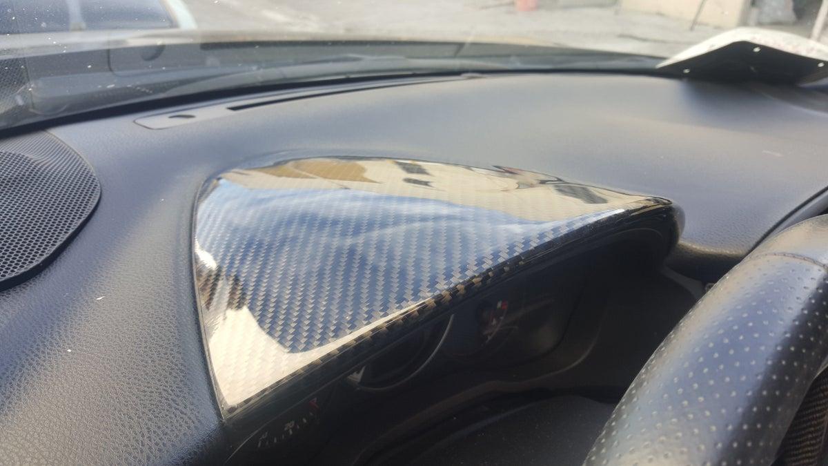 Innovated Dynamics Scion Frs Toytota Gt86 Subaru Brz Carbon Fiber Gauge Hood Cover