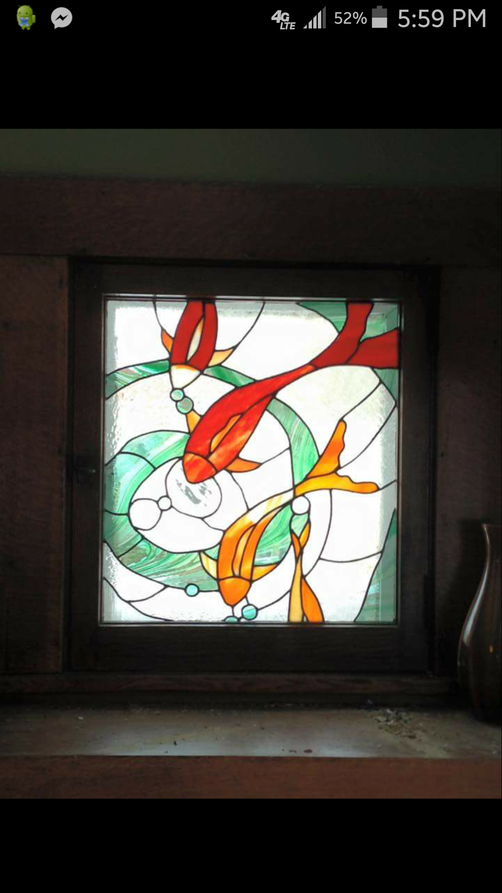 Image of Assorted Stained glass panels