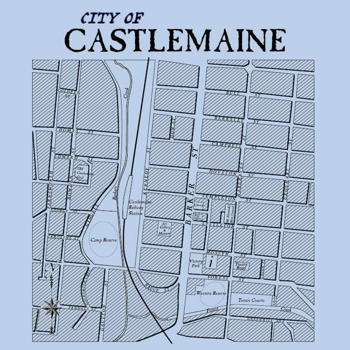 Image of City of Castlemaine - womens