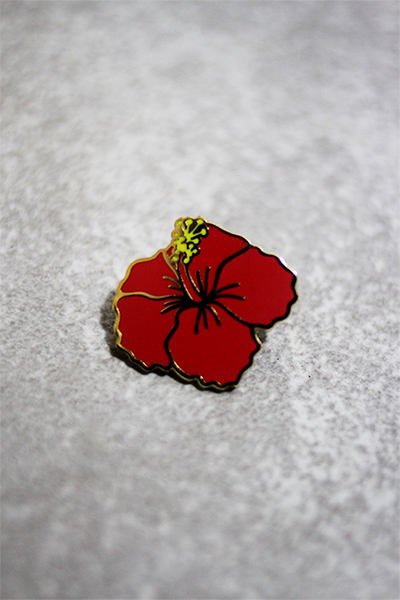Image of Red Hibiscus Flower