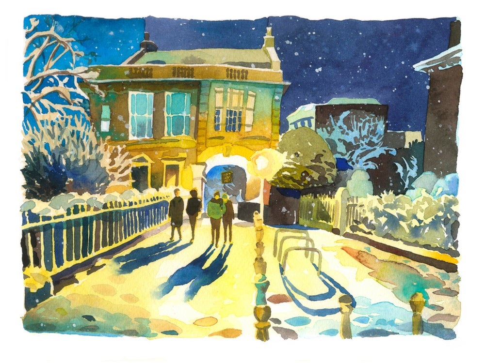 Image of Winter Night, Arch House (Bristol)