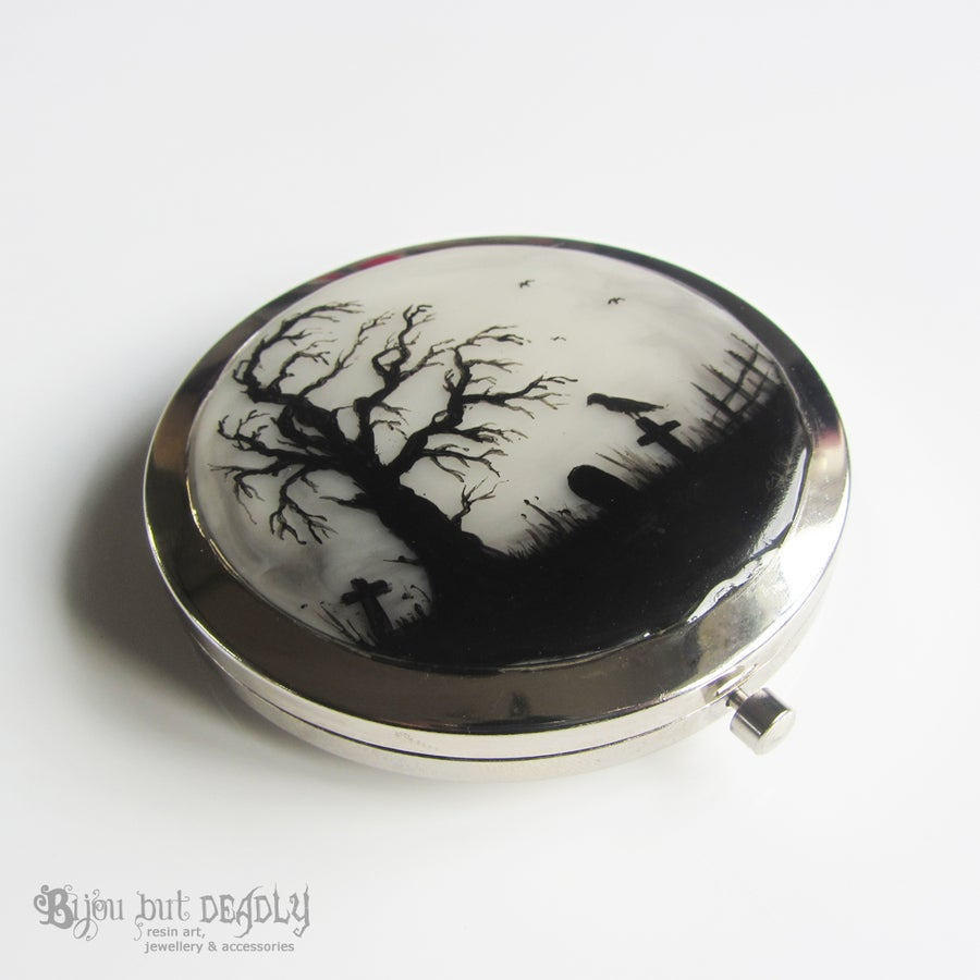 Image of Gloomy Wood Compact Mirror