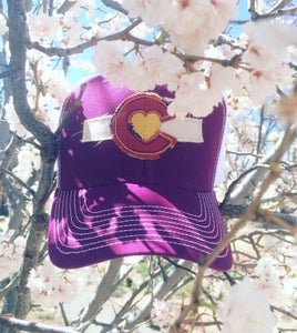 Image of Colorado Love Trucker Hat-Velvet