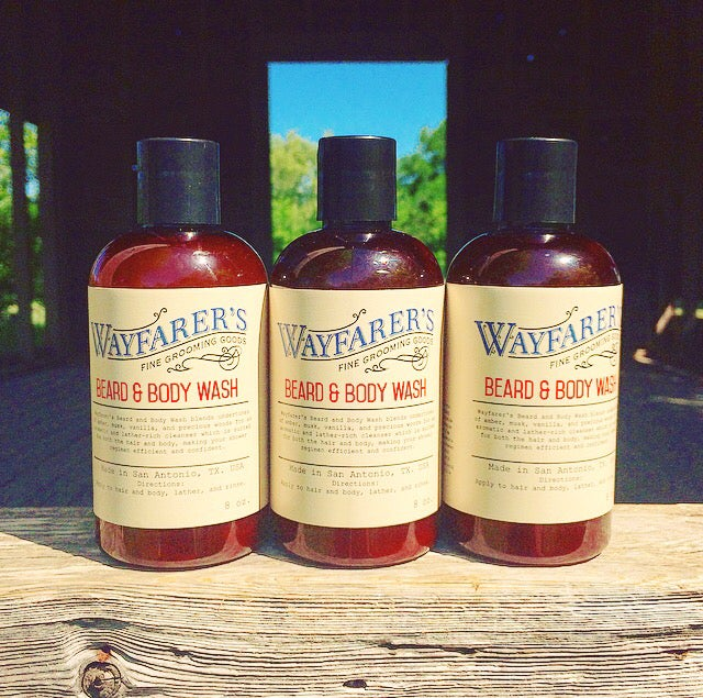 Image of Beard & Body Wash