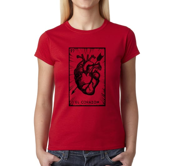 Image of El Corazon Women Tees