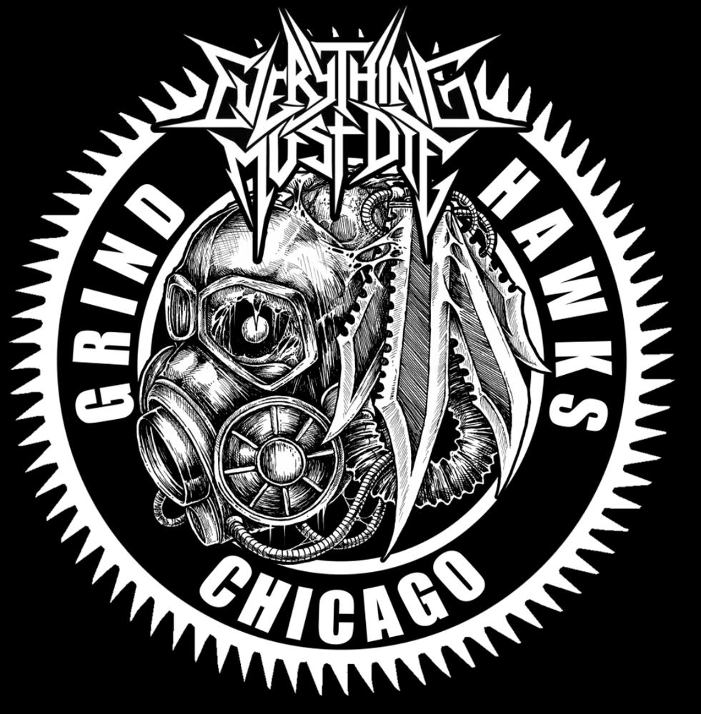 Image of Chicago Grind Hawks shirt