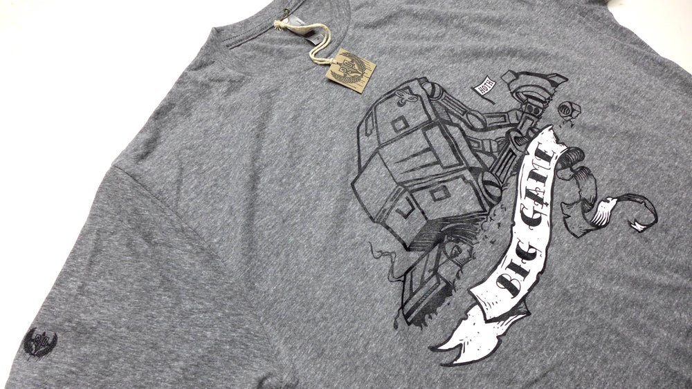 "Image of ""Big Game Hoth Hunters"" Star Wars AT-AT tee by Backpage Press"