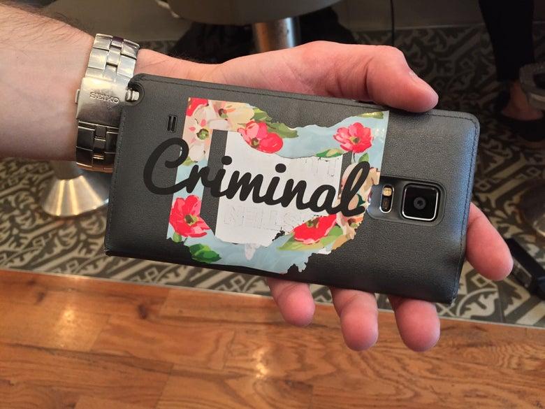Image of Criminal Sticker