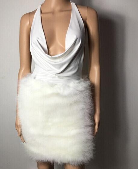 Image of SEXY DEEP V CUTE DRESS