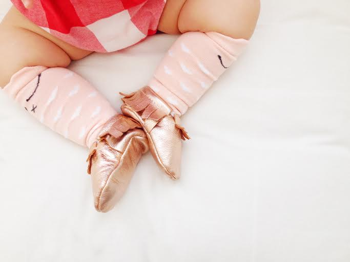 Image of Pink Sleepy Eye Socks