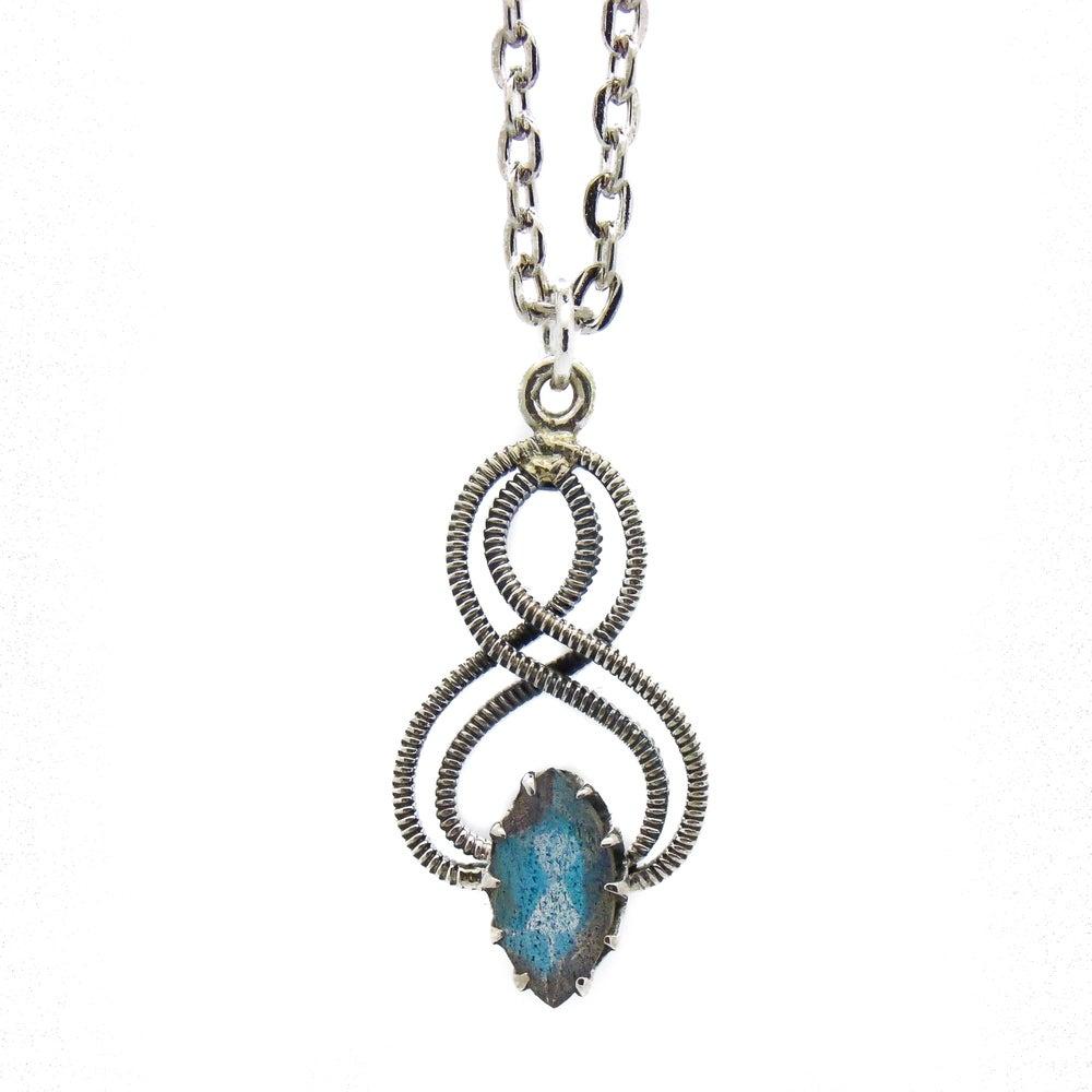 Image of Labradorite Marquise Enchantress Necklace