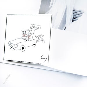 Image of Bryllupskort 2