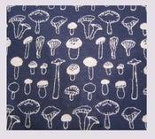 Image of Tissu: Jersey mushrooms