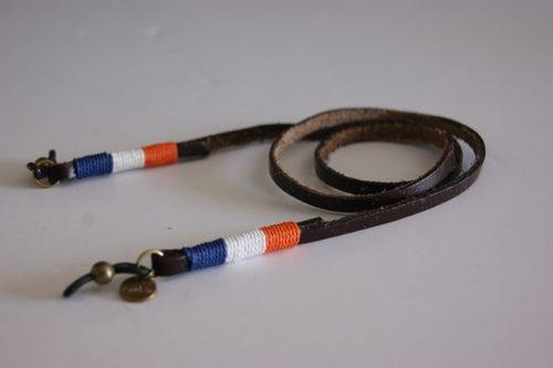 Foto de Cordón cuelga gafas cuero - classy leather Volendam