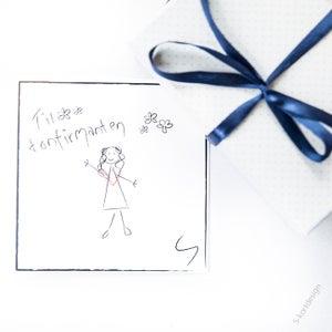 Image of Konfirmasjonskort jente 2