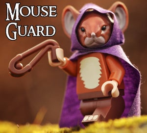 Image of Sadie - MOUSE GUARD Custom Minifigure SOLD OUT