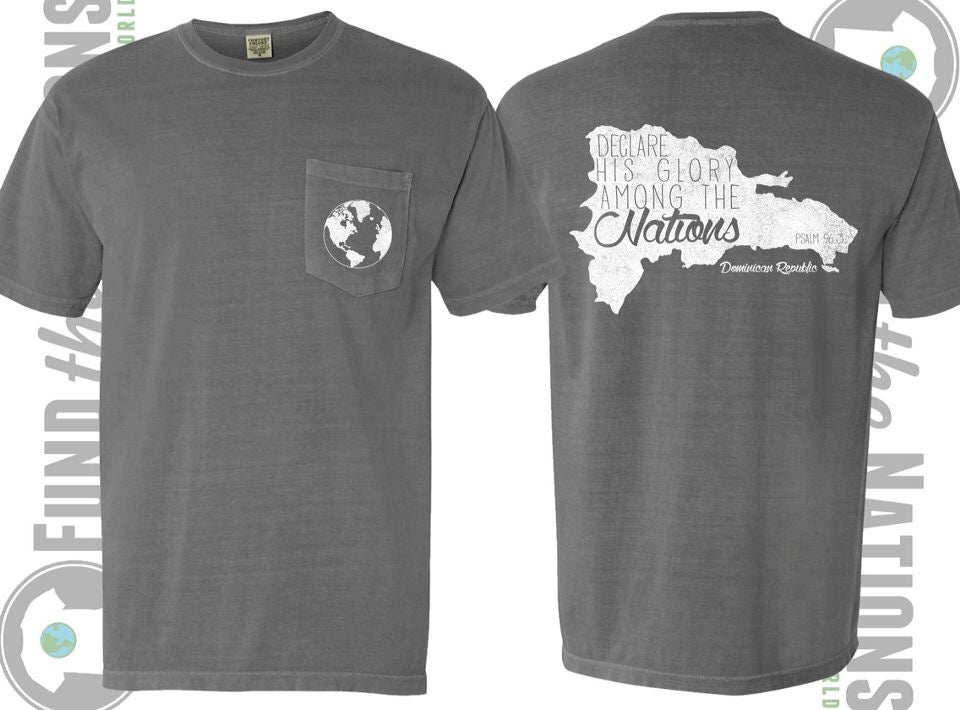 Shelby 39 s mission shirts dominican republic shirts for Shirts to raise money