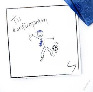 Image of Konfirmasjonskort gutt 3
