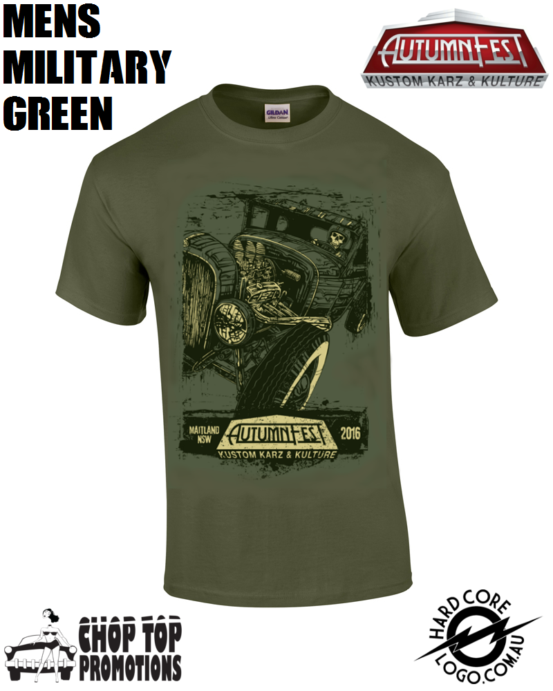 Image of Ltd Edition David Lozeau Men's T-Shirt Military Green