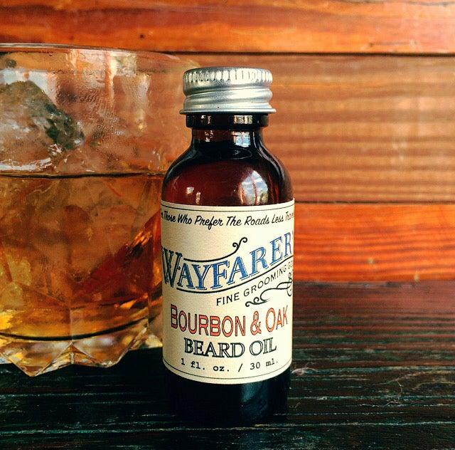 Image of Bourbon & Oak Beard Oil