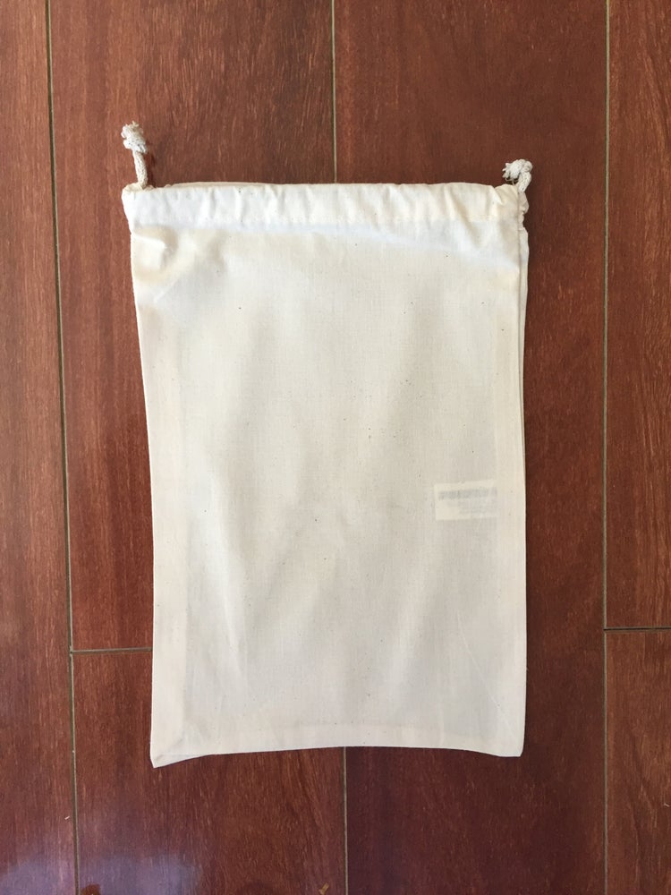 D and J Bags — Drawstring bag (Calico) 300mm x 400mm