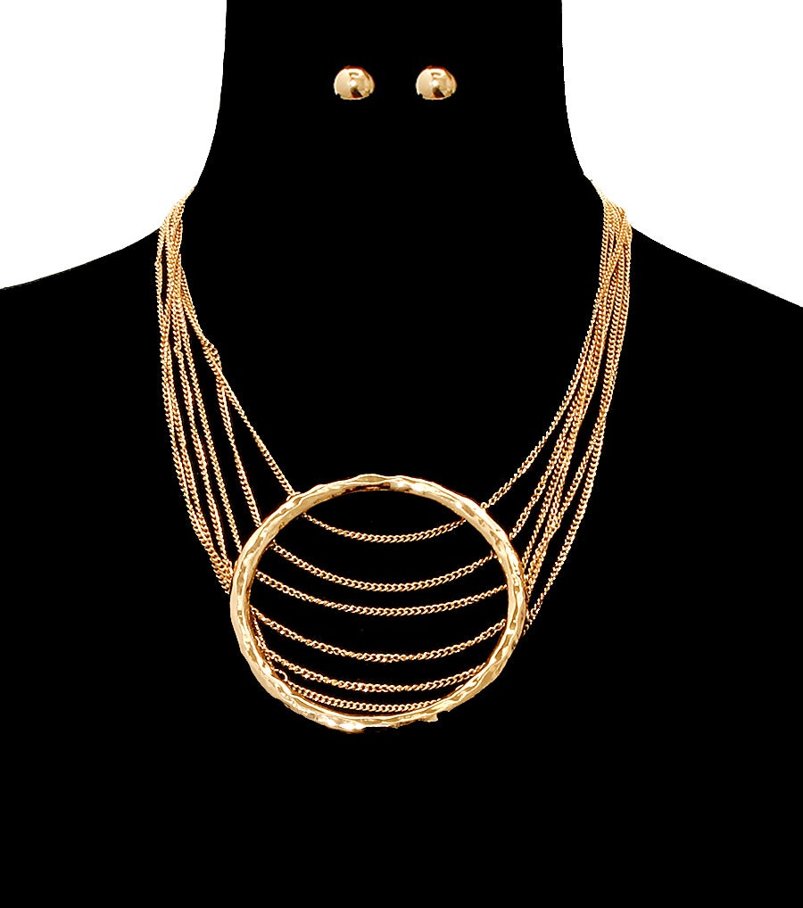 Image of Chain Layered Necklace Set