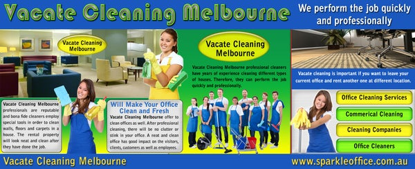 Image of vacate office cleaning melbourne