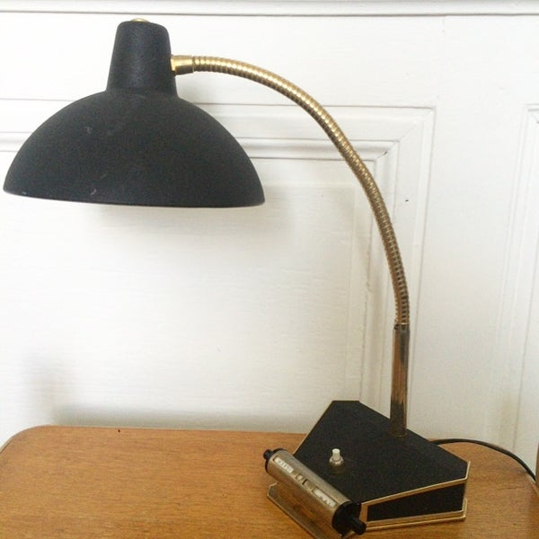 Image of Frank, lampe cocotte année 50