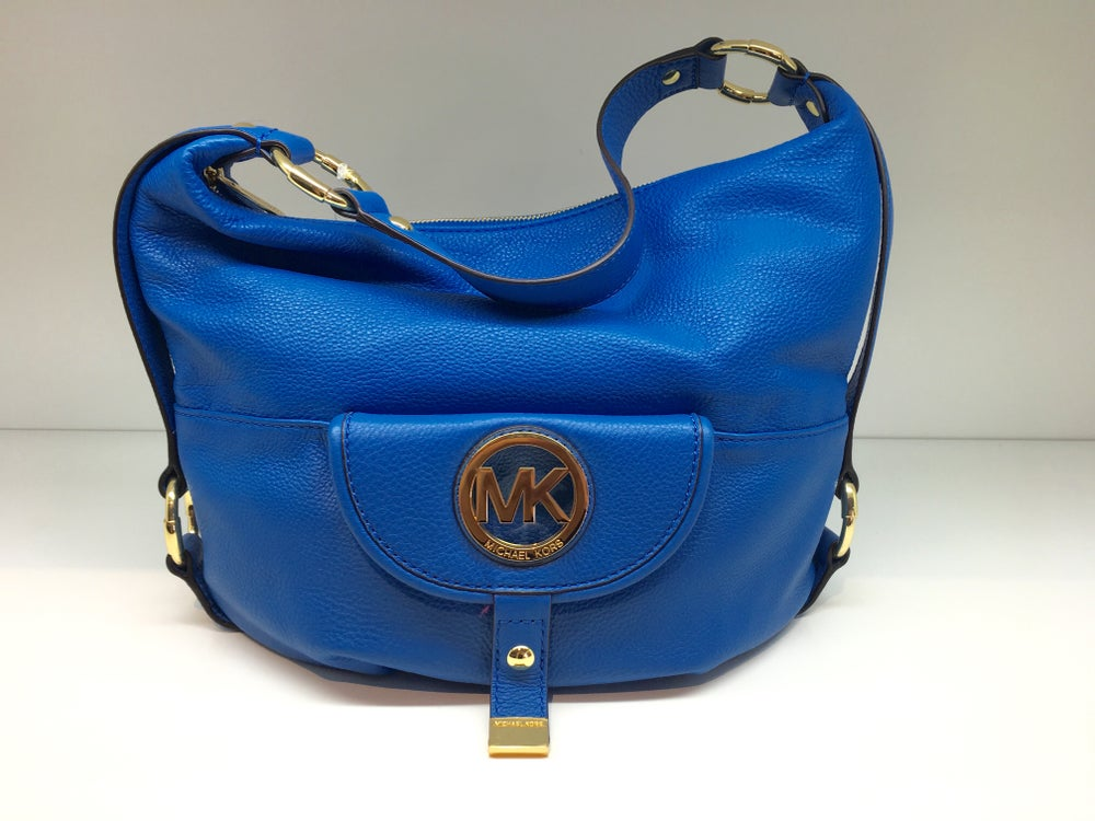 Image of Michael by Michael Kors Fulton Leather Large Shoulder Bag