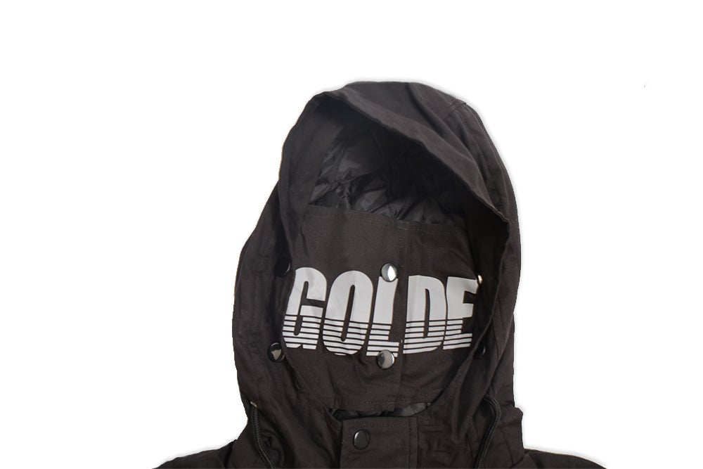 Image of Stealth Parka w/ 3M mask.