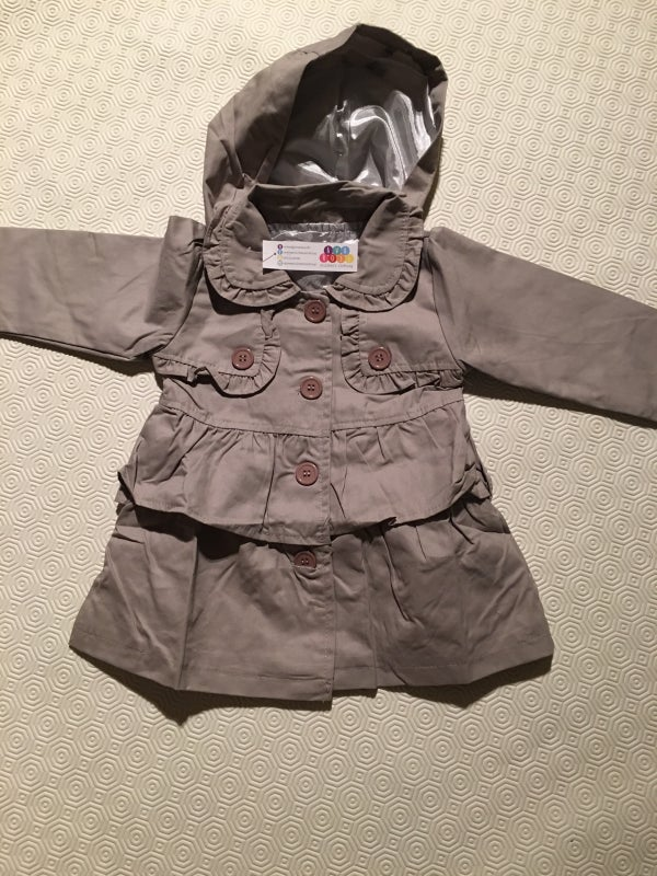 Image of Girls Grey Jacket