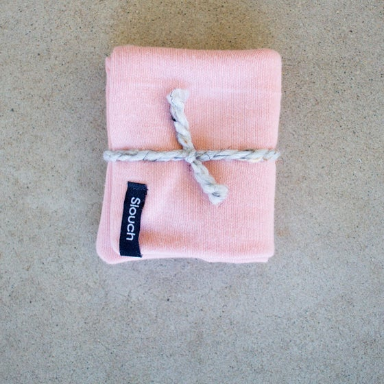 Image of Blush Pink Slouch Beanie