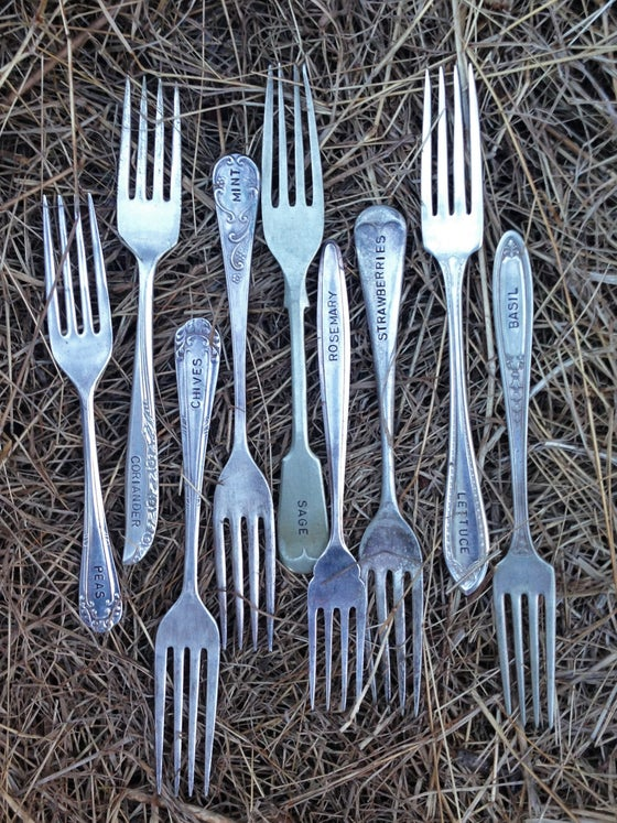 Image of Cutlery Plant Labels