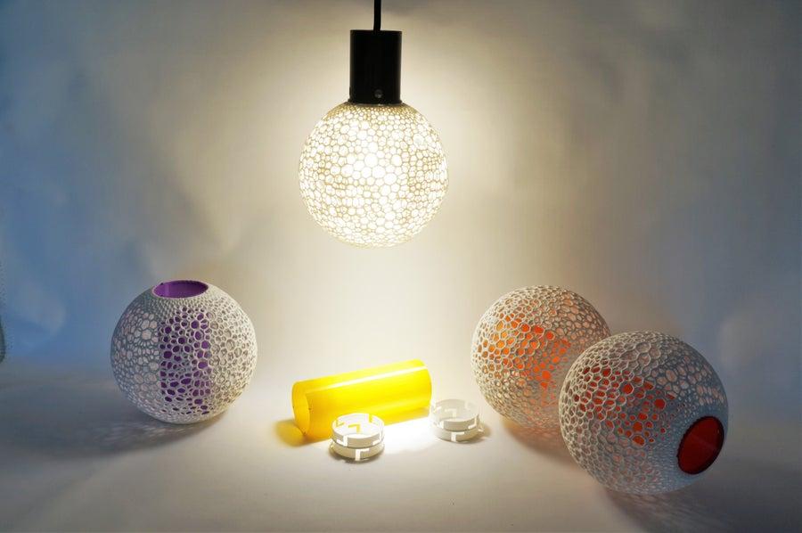 Image of Lampe Sino Suspendue