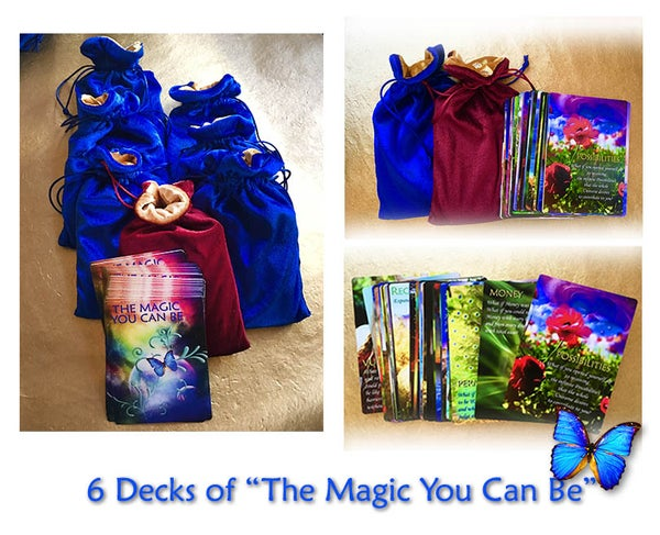 Image of 6 Deck of Cards - The Magic You Can Be - Access Consciousness© Tools