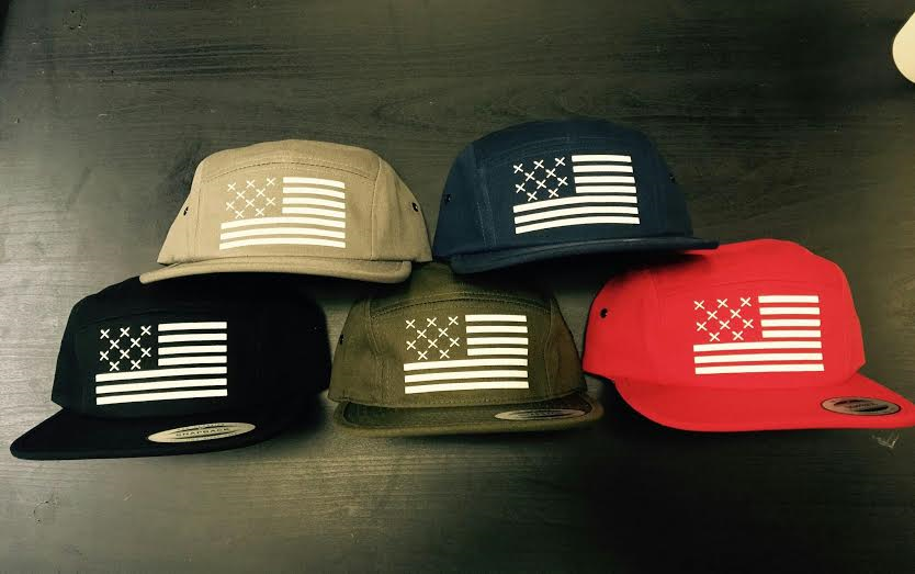 "Image of ""STRUTS OF AMERICA"" 5 PANEL HAT"
