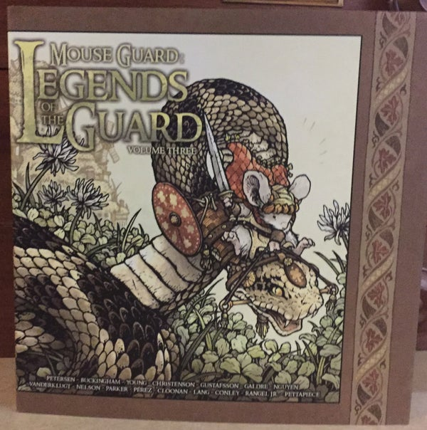 Image of Mouse Guard: Legends of the Guard Vol. 3 Hardcover *SIGNED*